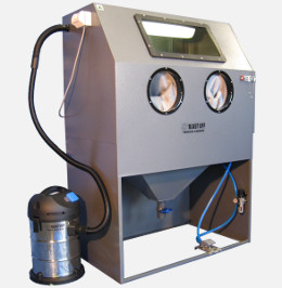 Remove Paint From Carbon With Sandblaster